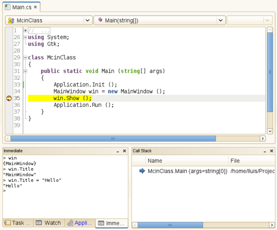 What's new in MonoDevelop 2 2   MonoDevelop
